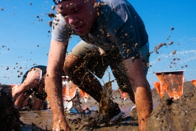 Merrell Down and Dirty Mud Run - Kensington Metropark 8/25/13