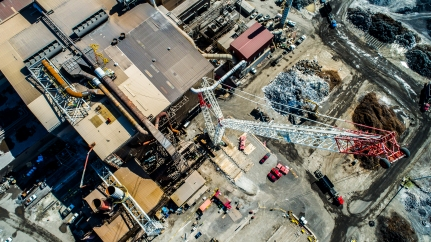 2019-08-29 Lee Contracting - Gerdau Steel - Drone Stills - FAVS for Social - Brian Sevald Photo-1